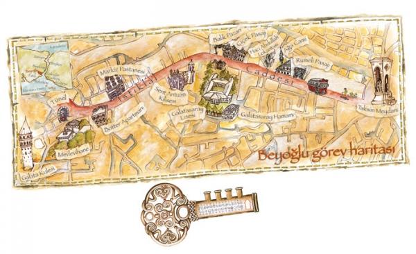 Sinan'ın haritası ve anahtarı