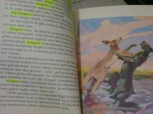 Kitaptaki hayvan adlarını çizmişim, nedense...