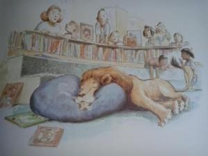 Yastığına Kavuşan Aslan