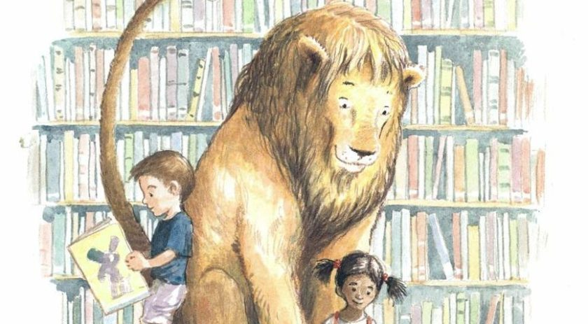 Kütüphandeki Aslan