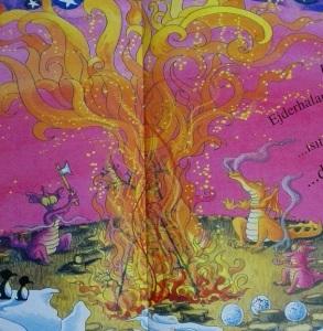 şenlik ateşi için ağaç kesmek mi?!