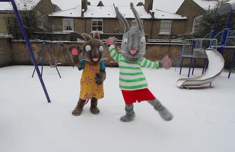 Karlı Gün için hazırlanmış olan videodan bir sahne
